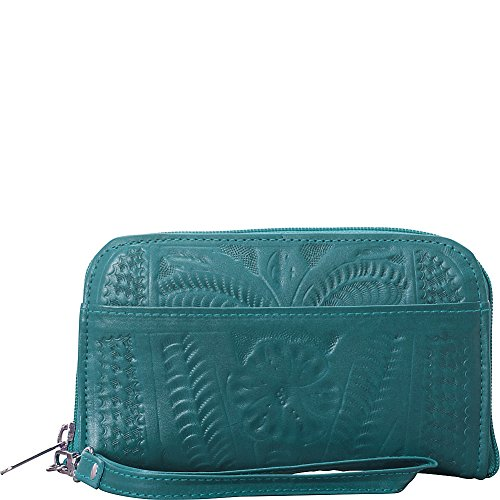 ropin-west-wrist-wallet-turquoise