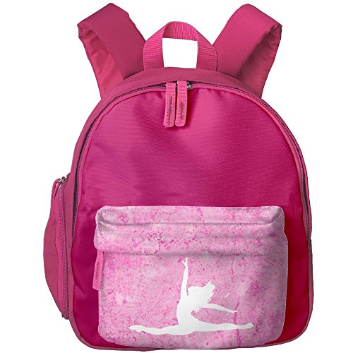 Music Box Dancer Costume - Kids Toddler Ballet Dancer Preschool Shoulder School Bag Pink