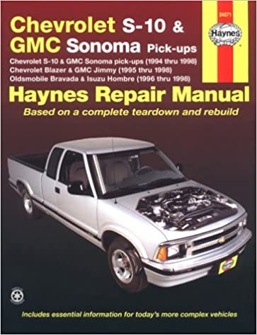 Haynes chevrolet s 10 and gmc sonoma pickups 1994 thru 1998 haynes haynes chevrolet s 10 and gmc sonoma pickups 1994 thru 1998 haynes repair manual paperback 2nd edition fandeluxe Images