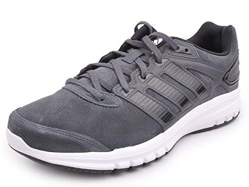 adidas Duramo 6Lea M Zapatillas de running, negro/blanco, 8,5 UK