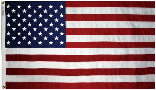 3x5 Foot Annin US American Flag Tough-Tex 2 Ply Poly Commerc