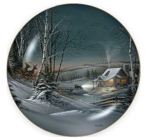 Evening With Friends Collector Plate by Terry (Friends Collector Plate)