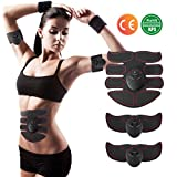 Charminer Ab Toner, EMS Muscle Trainer, Abdominal Toning Belts, Wireless Body Gym Workout Fitness...