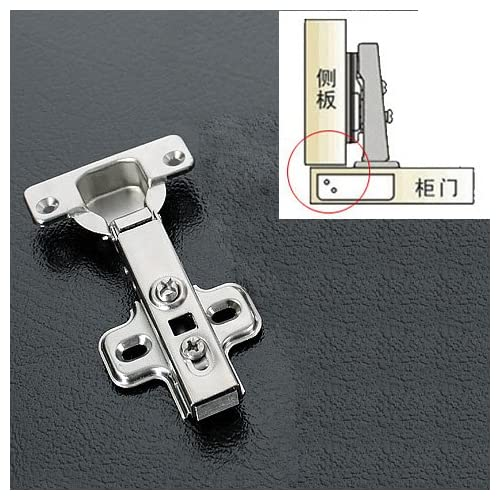 1 Pair/2 pcs Full overlay Cold Steel Rolling Soft Slow Close Kitchen Cabinet Door Hinges