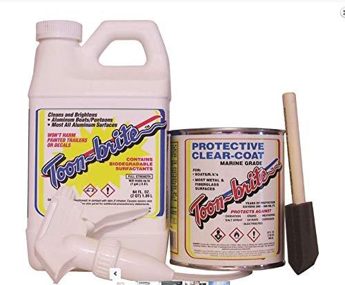 Aluminum Cleaner & Protective Clear-Coat Kit (Toonbrite) (Aluminum Brite Cleaner)