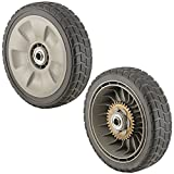 #9: Honda 42710-VE2-M02ZE (Replaces 42710-VE2-M01ZE) Lawn Mower Rear Wheel Set of 2