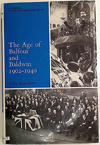 age of balfour and baldwin 1902 1940 hcp 感想 john ramsden 読書