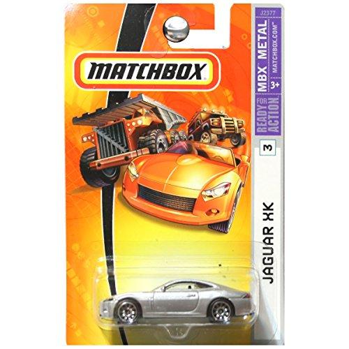 - Mattel Matchbox 2006 1:64 Scale Silver Jaguar XK Die Cast Car #3