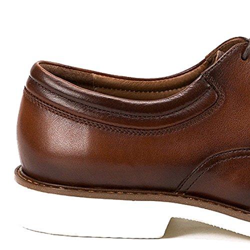 De A Mano Broch Hombre Tallado Brown Hecho Zapatos Oxford Cuero Británico Estilo Color Calzado Zapatos Oxford De Casuales q0gwPF
