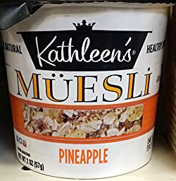 Kathleen\'s Pineapple Muesli 2 oz (Pack of 4)