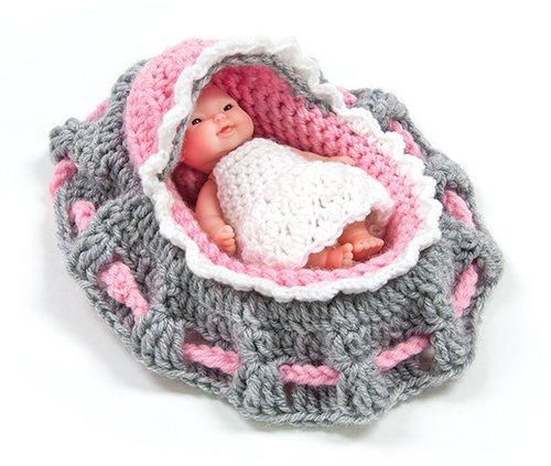 Cradle Purse Doll Kit