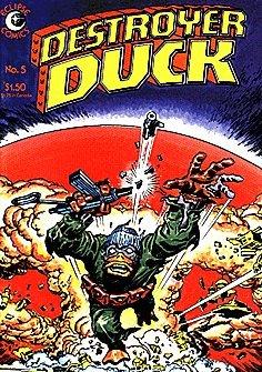 - Destroyer Duck (1982 series) #5