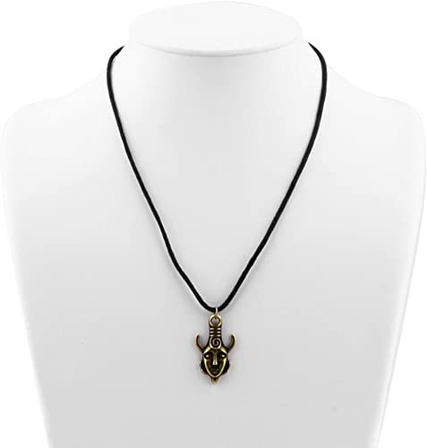 Supernatural Jensen Ackles Dean Winchester Protection Amulet Necklace