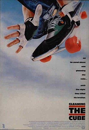 (Gleaming the Cube Movie and Television Advertising Original Vintage Postcard)
