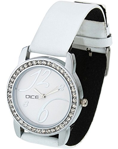 DICE Princess   8240 White Watch for Women.