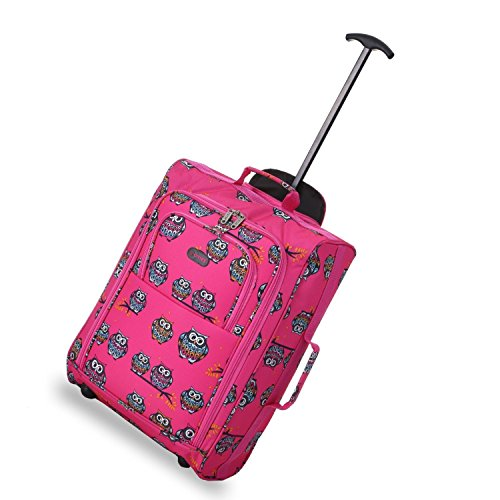 5-cities-lightweight-hand-luggage-travel-holdall-baggage-wheely-suitcase-cabin-approved-bag