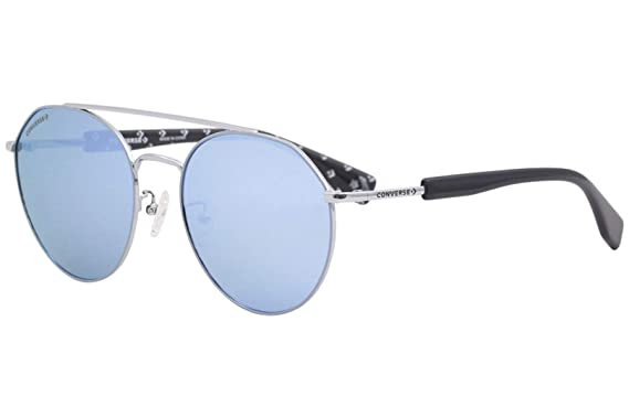cd1c5dd6621c Converse All Star SCO053 Sunglasses Gunmetal w/Blue Mirror Lens 56mm 8L5B  SCO053Q SCO 053Q SCO 053: Amazon.co.uk: Clothing
