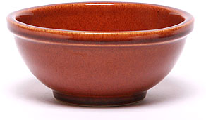 Ceramic Chili Bowl, Copper Clay: Made in the USA and Lead-Free | Emerson Creek Pottery