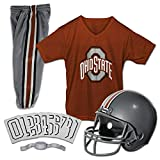 Franklin Sports NCAA Ohio State Buckeyes Kids College Football Uniform Set - Youth Uniform Set - Includes Jersey, Helmet, Pants - Youth Small