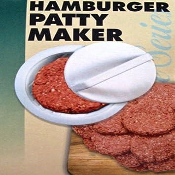 BigFamily - Molde de plástico para hacer hamburguesas o barbacoas: Amazon.es: Hogar