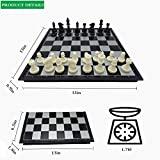 Chess Set Magnetic Chess Set 13 Inch Travel Chess