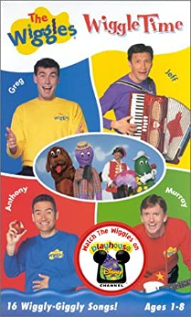 Amazon com: The Wiggles - Wiggle Time [VHS]: Wiggles: Movies