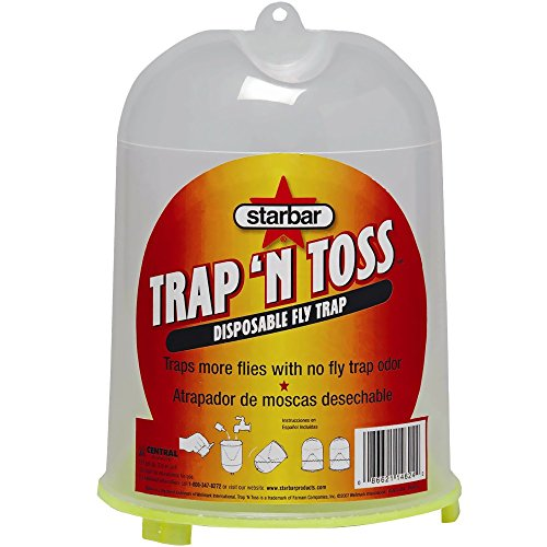 StarBar TRAP 'N TOSS DISPOSABLE FLY TRAP, Quantity 1