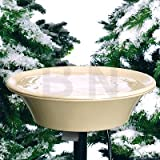 Allied Precision 14 in. Heated Bird Bath with EZ-Tilt Deck/Pole Mount (1)