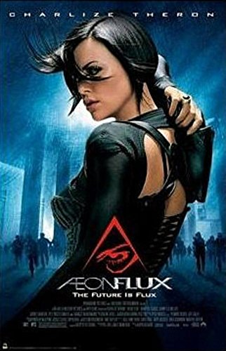 Laminated Aeon Flux Movie Charlize Theron Poster Print