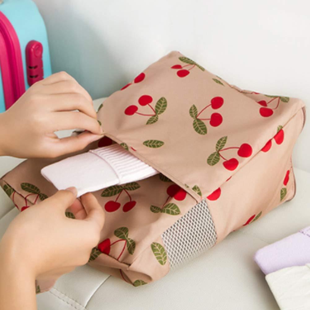 YaptheS Portable Travel Shoe Bag Waterproof Handbag dustproof Shoe Bag red