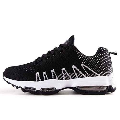 Walking Black Shoes Running Sports Men Cushion Shoes Flexible Fitness For Sneaker Gym Professional Air qO01qw