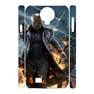 The Avengers TY8013046 3D Art Print Design Phone Back Case Customized Hard Shell Protection SamSung Galaxy S4 I9500