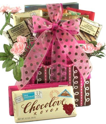 Gift Basket Village Love Letters Romantic Gift Basket for Men or Women