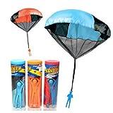Kasstino Kids Children 45cm Hand Throw Cloth Parachute Classic Funny Toys Birthday Gift