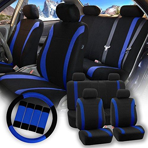dark blue steering wheel - 1