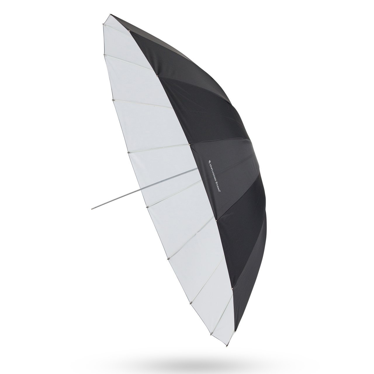 UNPLUGGED STUDIO 70inch White Umbrella (16 Fiberglass Ribs)