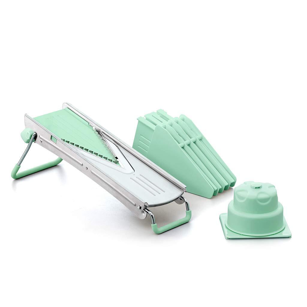 Fissman Super V-Blade Mandoline Slicer, Multi Blade Adjustable Cheese/Vegetable Slicer by FISSMAN