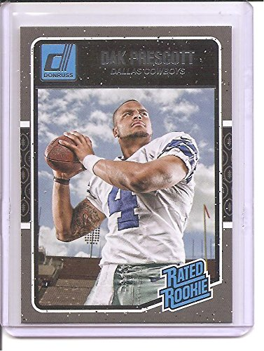 Dak Prescott Dallas Cowboys / Mississippi State 2016 Panini Donruss Rated Rookie (Rated Rookie Card)