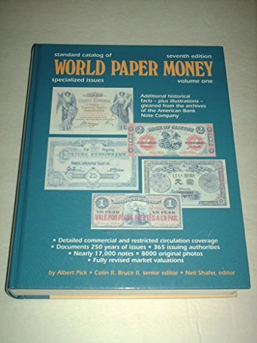 Standard Catalog of World Paper Money: Special Issues (STANDARD CATALOG OF WORLD PAPER MONEY VOL 1: SPECIALIZED ISSUES)