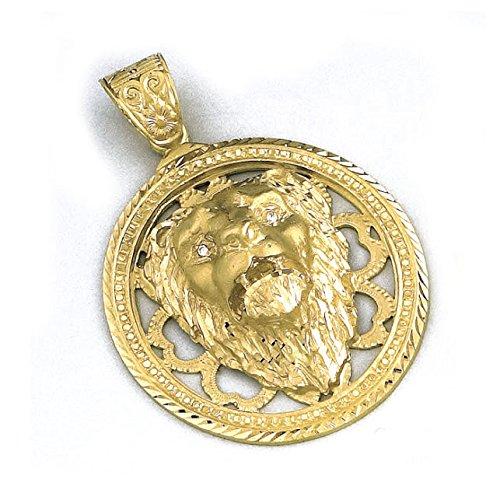 LIOR - Pendentif Or jaune 750/1000 (18kt) Lion