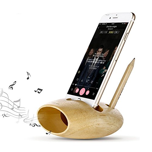 Phone Stand Bamboo Multi function Organizer