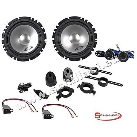Altavoces Alpine altavoces para Peugeot 1007/206/306/307/406/407/605 Kit 2 Vía eclaté: Amazon.es: Electrónica