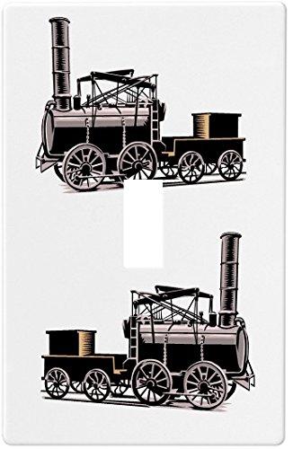 【年中無休】 ヴィンテージ列車ウォールプレート装飾スイッチプレートカバー1ギャング – B00NQZCUSQ Single切り替え) – B00NQZCUSQ, クロソイド屋:7ff9fbd6 --- svecha37.ru