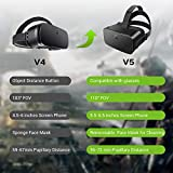DESTEK V5 VR Headset, 110° FOV Eye Protected HD