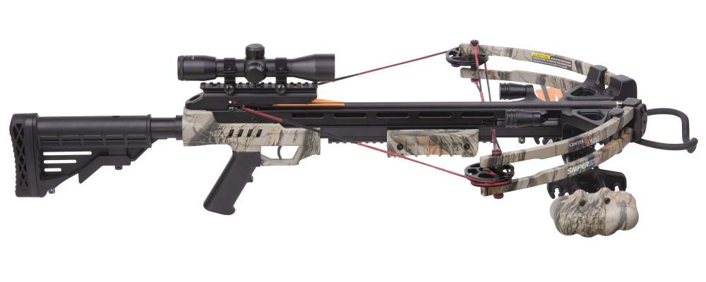 CenterPoint Sniper 370 - Camo Crossbow Package by CenterPoint