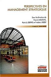 Perspectives en management stratégique : Tome 9, 2001-2002