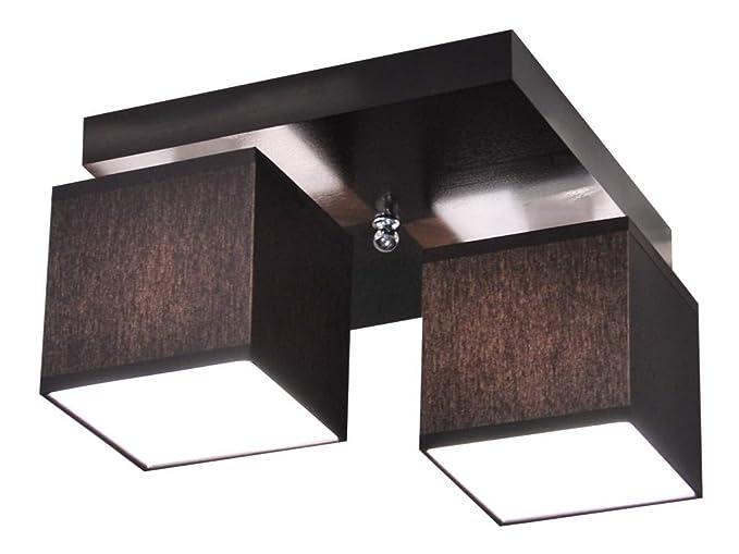 Plafoniere Per Sala Da Pranzo : Plafoniera illuminazione a soffitto in legno massiccio lls226d