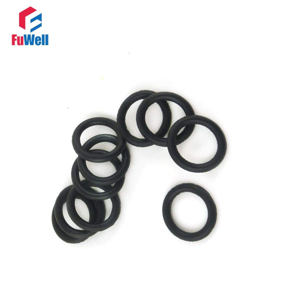 2mm Section Select OD from 5mm to 50mm Rubber O-Ring gaskets