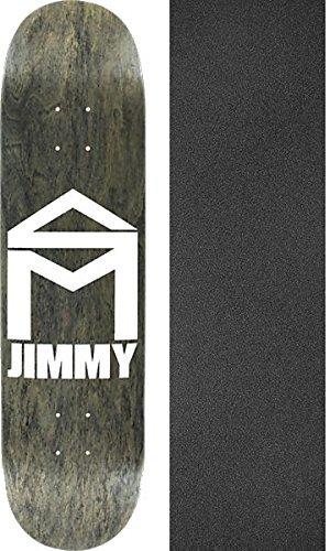 有益比率無駄にsk8mafia Skateboards Jimmy Cao家Stainスケートボードデッキ – 8.06 X 32 cmでブラックマジックGriptape – 2アイテムのバンドル