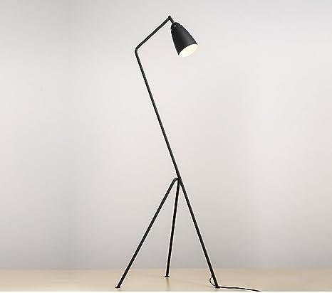 NAUY- Lámparas de pie Moderno Triángulo Tridente Decoración ...